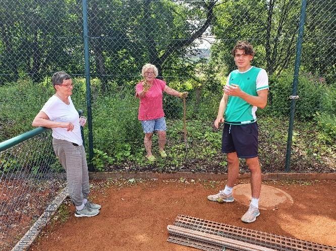 Wildblumen statt Tennis