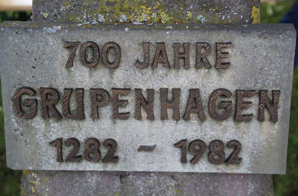 Gedenkstein wurde eingeweiht
